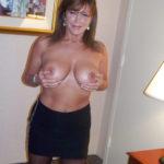 une femme nue du 55 mature